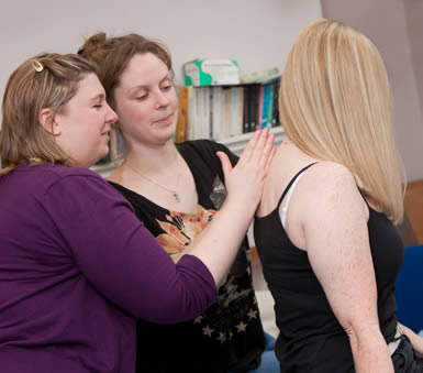Emma Huston, tutor on the acupuncture courses at the Northern College of Acupuncture
