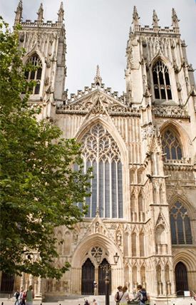 The Northern College of Acupuncture is just around the corner from some of York's most famous attractions, including the York Minster.