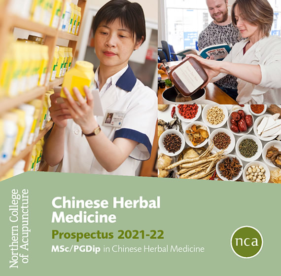 Chinese Herbal Medicine Course Prospectus, Northern College of Acupuncture.