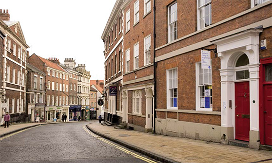 Acupuncture courses and treatment are available at the Northern College of Acupuncture, located on Micklegate in York city centre.