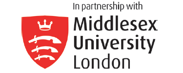 Our courses are validated by Middlesex University