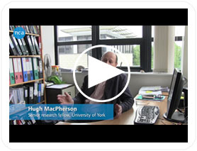 Hugh MacPherson talks to Marketing Manager Denise Magson about his acupuncture research at the University of York.